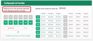 Há tecnologia disponível que permite a escolha automática de Taxas ao Cliente